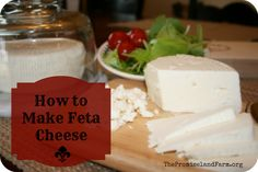 How to make feta cheese at home (w/ video tutorial)