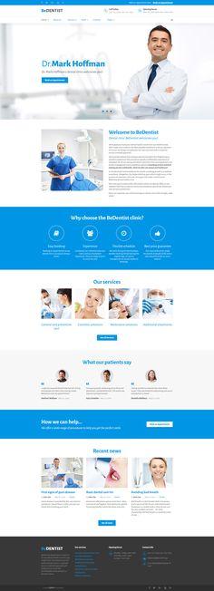 301 Best medical website images Design websites, Html templates