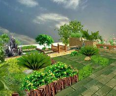 Modern luxury homes beautiful garden designs ideas | Visit http://www.suomenlvis.fi/