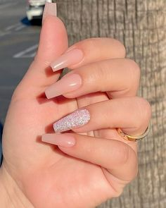 Acrylic Nails Coffin Short, Simple Acrylic Nails, Best Acrylic Nails, Hot Nails, Swag Nails, Stylish Nails, Trendy Nails, Acylic Nails, Fire Nails