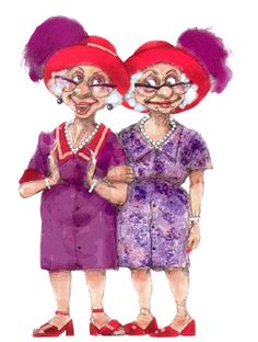 mes tubes humoristiques - Page 7 Book Characters, Female Characters, Disney Characters, Fictional Characters, Senior Citizen Humor, Old Lady Humor, Red Hat Ladies, Mug Rug Patterns, Funny Drawings