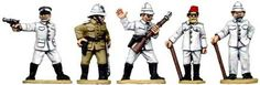 Copplestone miniatures, AF23 German Officers