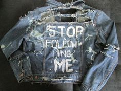 diy punk denim jackets - Google Search