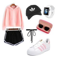 """""""Casual lazy day"""" by angela-reyes-2 on Polyvore featuring adidas, Topshop and Joomi Lim"""