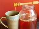Recipe: Olive-Oil Cake with Honey-Roasted Rhubarb :: Jim Dixon :: Culinate