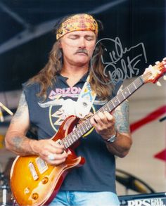 Dickie Betts→Allman Brothers Band the man. One of my all-time favorites
