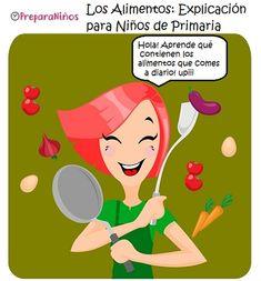 alimentacion saludable explicacion para niños ppt