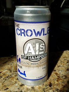 Bring home a Crowler from Al's...   tap 69, Saugatuck's Reverent Monk.