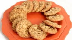 Oatmeal Almond White Chocolate Chip Cookies Recipe - Laura in the Kitchen - Internet Cooking Show Starring Laura Vitale