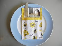 Cutlery Holders to Add Fun and Personality to by VanDijkDesigns Cutlery Holder, Personality, Napkins, Ads, Table Decorations, Tableware, Dinnerware, Towels, Silverware Holder