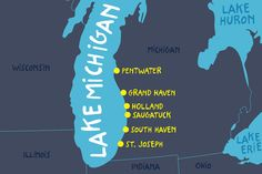 Explore some of the best Michigan beaches with this guide from Alamo. Plan your next Lake Michigan beach vacation at one of these incredible beach towns. Lake Michigan Vacation, Lake Michigan Beaches, Michigan Vacations, Michigan Travel, Long Lake Michigan, South Haven Michigan, Holland Michigan, Cheap Beach Vacations, Midwest Vacations