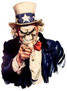 Uncle Sam Death Mask