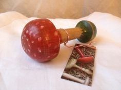 Vintage toadstool darning mushroom by Scrapiana on Etsy, £7.50