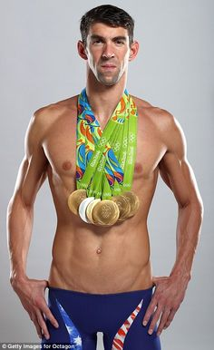 U.S. swimmer Michael Phelps pictured above