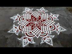 Rangoli Designs Flower, Rangoli Kolam Designs, Rangoli Designs Images, Kolam Rangoli, Beautiful Rangoli Designs, Simple Rangoli, Traditional Rangoli, Padi Kolam, Pooja Room Door Design