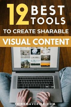 12 Best free tools to help you create shareable attractive images, animated GIFs and videos. It's a fun and effective way to engage your audience, grab their attention, make an announcement and help convert visitors into leads, customers and loyal followers. No expensive software, no prior experience, and no design skill needed. Best of all, most are free, or at least offer a free version or trial and they won't host your designs on their site. #socialmedia #graphicdesign #visualcontent