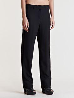 Ann Demeulemeester Women's Lightlaine Straight Leg Pants