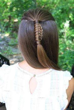 Reverse Chinese Ladder Braid | Cute Girls Hairstyles