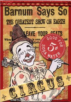 Big Top Rubber Stamp Collection - Circus.