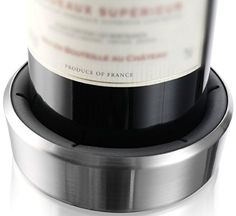 Vacu Vin Wine Bottle Coaster  Surface Protector  Stainless Steel * Find out more about the great product at the image link.