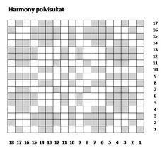 Harmony polvisukat, lankana 7 veljestä, värit 011 ja 060. Knitting Charts, Crochet, Crochet Hooks, Knitting Tutorials, Crocheting, Chrochet