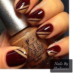 love this gold color OPI