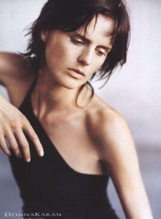 Fashion Editorial Stella Tennant by Peter Lindbergh for Donna Karan SS 1999