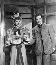 Goodbye, Mr. Chips (1939) - Robert Donat with Greer Garson