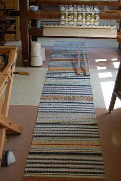 "finished, 202"" | Flickr - Photo Sharing! Rug Loom, Loom Weaving, Tapestry Weaving, Hand Weaving, Woven Rug, Creative Inspiration, Dollar Stores, Fiber Art, Rugs On Carpet"