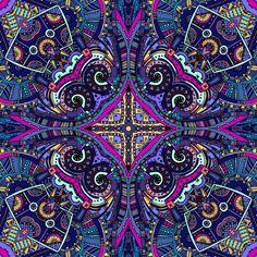 Boho style background design Free Vector