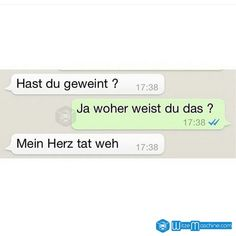 Lustige WhatsApp Bilder und Chat Fails 75 – Weinen Funny WhatsApp pictures and Chat Fails 75 – crying Sad Texts, Cute Texts, Sweet Quotes, Sad Quotes, Iphone Humor, Whatsapp Pictures, Funny Fails, Text Messages, Cool Words
