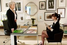The 15 Iciest Moments From The Devil Wears Prada - http://www.popularaz.com/the-15-iciest-moments-from-the-devil-wears-prada/