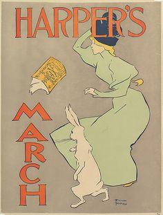 Edward Penfield | Harper: marzo | el Met