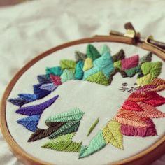 Bordado moderno - Modern Embroidery
