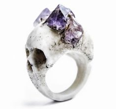 Get EXTRA 20% OFF SALE prices with code 'EXTRA20' at STORE-MACABREGADGETS.COM | This weekend only!  #macabregadgets #jewelry #black #fashion #ring #crystals #amethyst #light #pure #blackfashion #crystal #blossom #blow #rawstone #gems #skull #skullring #skulljewelry #lifestyle #allblack #blackfashion #fashionjewelry