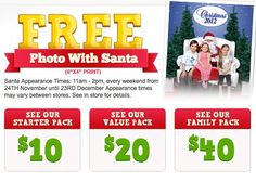 Free Photoprint with Santa