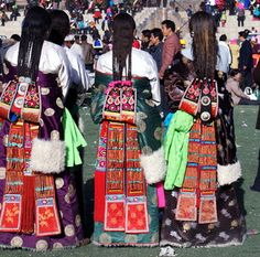 back of Tibetan Dress