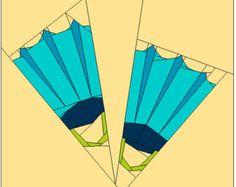 Fins paper piecing PP pdf Pattern