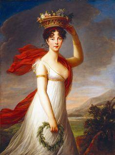Louise Élisabeth Vigée Le Brun (Marie Élisabeth Louise; 16 April 1755 – 30 March 1842) - French Portrait Painter   https://en.wikipedia.org/wiki/Louise_%C3%89lisabeth_Vig%C3%A9e_Le_Brun