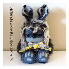$60.00 Ned Yetirabbit by CuteCritters on Handmade Australia