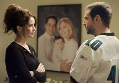 Jennifer Lawrence & Bradley Cooper in Il lato positivo