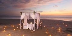 Enjoy the most romantic candle light dinner with the most special person in your life in #st.thomas hotels