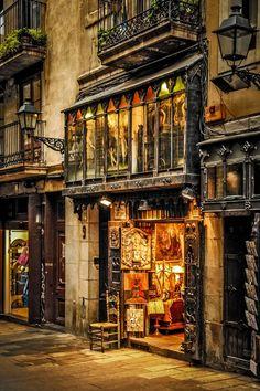 Galerías Sant Jordi in Barcelona - Catalonia, Spain Barcelona City, Barcelona Catalonia, Barcelona Travel, Architecture Antique, Amazing Architecture, Gaudi, Beautiful Buildings, Beautiful Places, Travel Around The World