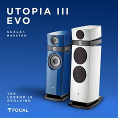 Focal is proud to present Utopia III EVO, the new #speaker generation with astonishing technical performances. The Scala and Maestro models evolved with a new refined #design and exceptional features. #ListenBeyond #highfidelity #audiophile