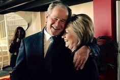 George Herbert Walker Bush Says He's Voting for Hillary Clinton
