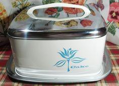 vintage cake carrier holder lincoln by MaribelsVintageStuff, $49.99