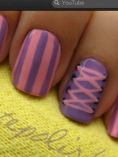Disney Rapunzel nails!- I'm so gonna do this!! :3