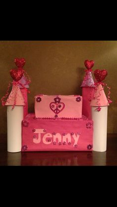 Castle valentine's day box.