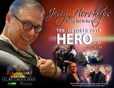 Denver minister, Jerry Herships,  named TPE Hero of the Month October 2013.  Read about Jerry in the TPEPost.com #hero #edu #education #christian #minister #jerryherships #TrishBrown #Detroit #Denver #LA #homeless #afterhours