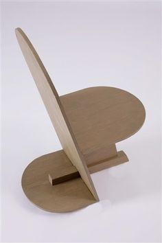// Side chair (for Wilshire medical office) by Rudolph M. Schindler